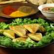 Vegetable samosas — Foto Stock