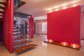 Casa amaranto - corridoio — Foto Stock