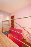 Amaranth house - Staircase — Stock Photo
