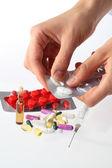 Dosage drugs — Stock Photo