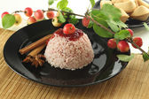 Sweet rice dessert — Stock Photo