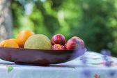 Meyve tabağı — Stok fotoğraf