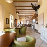 Mediterranean interior - elegant corridor — Stock Photo