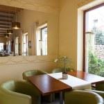 Mediterranean interior - lunch table — Stock Photo