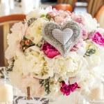 Mediterranean interior - wedding bunch — Stock Photo