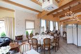 Mediterrane interieur - stilvolles interieur — Stockfoto
