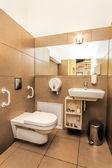 Mediterranean interior - bathroom — Stock Photo