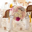 Stock Photo: Mediterranean interior - wedding sets