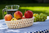 Fruit and water — Foto Stock