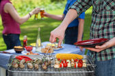 Garden party — Stock Photo