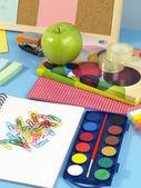 Child's desk — Stok fotoğraf