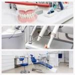 Постер, плакат: Photos of a dentists office