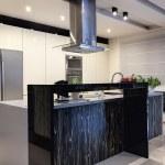 apartamento urbano - cozinha contemporânea — Fotografia Stock  #30140173
