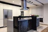 Urban apartment - Contemporary kitchen — Stock Photo