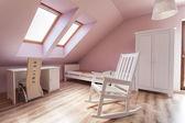 Urban apartment - bright room — Stock Photo