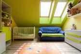 Urban apartment - cute room — Stock Photo