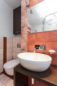 Spacious apartment - Wash basin — Stockfoto