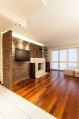 Ruim appartement - woonkamer — Stockfoto