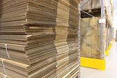 Mucchio di ondulati ondulato — Foto Stock
