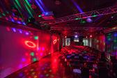 Woodland hotel - Neon lights — Stock Photo