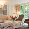 Stock Photo: Vintage mansion - luxurious suite