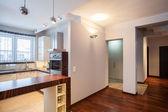 Country home - Kitchen, corridor — Stock Photo