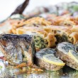 Fish with stuffing — Stock Photo