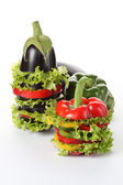 Colorful vegetables design — Stock Photo