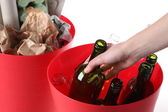 Ecological bins — Stock Photo