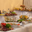 Buffet with different appetizers — Stock Photo #32157131