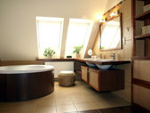 Bathroom interior — Photo