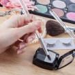 Stock Photo: Makeup preparing