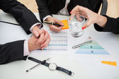Time-consuming meeting — Stock Photo
