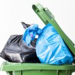 Waste bin top — Stock Photo
