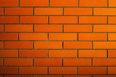 Background of red bricks — Stock Photo
