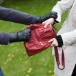 Bag theft — Stock Photo