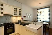 New stylish kitchen — 图库照片