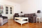 Spacious living room — Stock Photo