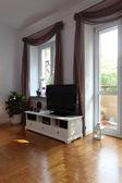 TV in living room — Stock Photo