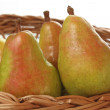 Pear basket — Stock Photo