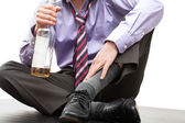 Man in trouble - alcoholism — Stock Photo
