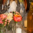Table ready for reception — Stock Photo