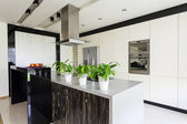 Urban apartment - Bright kitchen — Stock Photo