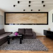 Stock Photo: Urbapartment - Spacious living room