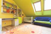 Stedelijke appartement - kwekerij kamer — Stockfoto