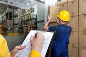 Warehouse report — Stock Photo