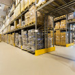 Warehouse interior — Stockfoto