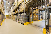 Interior de almacén — Foto de Stock