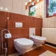 Toilet interior — Stock Photo
