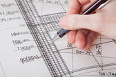Makend een plan — Stockfoto